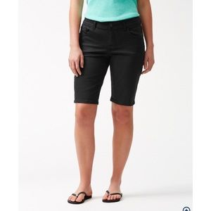 Tommy Bahama Black Bermuda Shorts